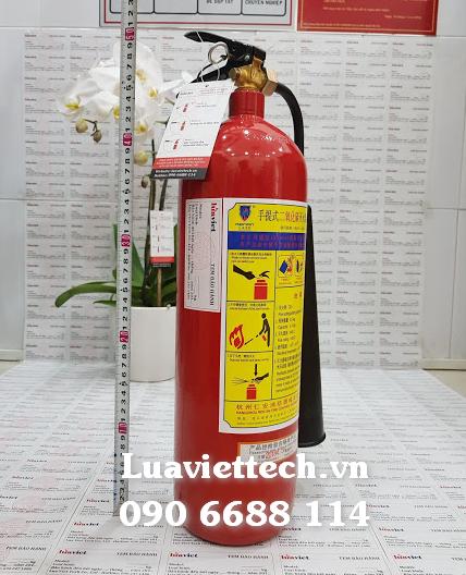 bình chữa cháy khí CÒ 3kg