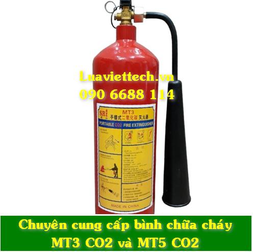 bình chữa cháy Mt3 co2 giá rẻ