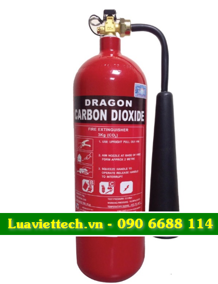 bình chữa cháy dragon có tem kiểm định của bộ công an
