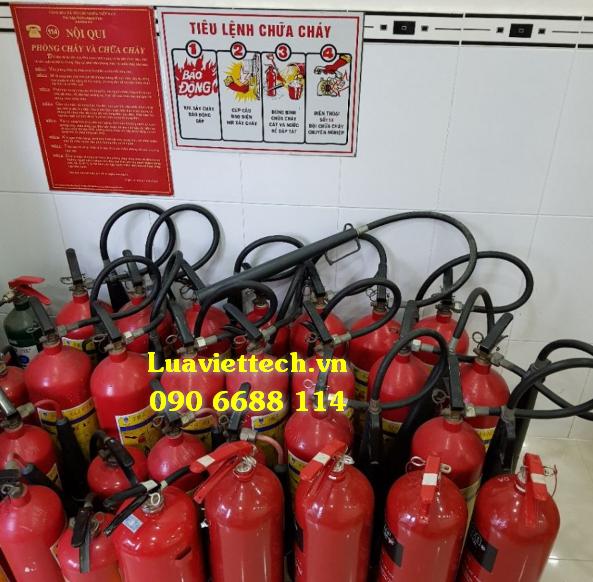 bình chữa cháy MT3 CO2 và MT5 CO2 giá rẻ giá sỉ