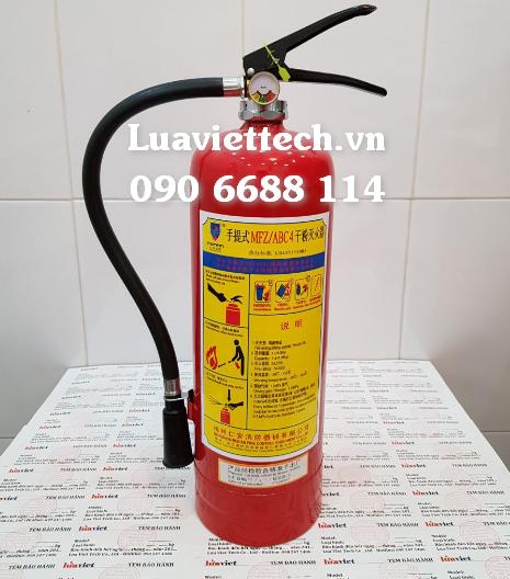 mua bán bình chữa cháy bột MFZ4 BC và MFZL4 ABC giá rẻ