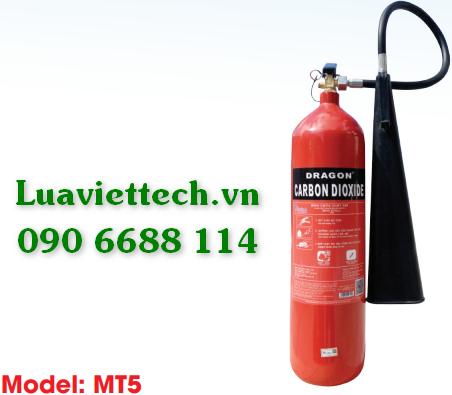 Bình chữa cháy hiệu DRAGON loại khí CO2 5kg MT5 giá rẻ