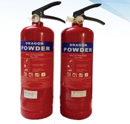 Bình chữa cháy hiệu DRAGON loại bột ABC 2Kg MFZL2 giá rẻ