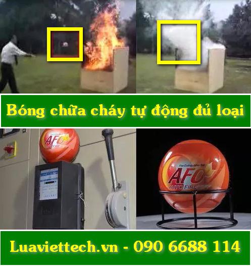 Bóng chữa cháy tự động Elide Fire, AFO, Dry Powder, Mr Little BOY chính hãng giá rẻ giá sỉ