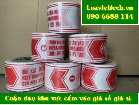 Xưởng sản xuất chuyên bán cuộn dây giăng khu vực cấm vào giá rẻ giá sỉ giao hàng toàn quốc