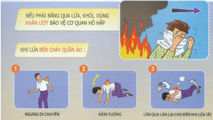 Hướng dẫn giải pháp, kỹ năng thoát nạn khỏi cháy nhà, cháy chung cư