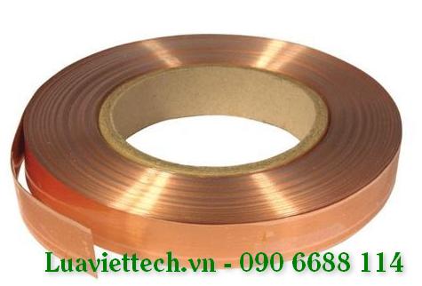 Thanh đồng (Bare copper tape) BCT253 kích thước 25x3mm
