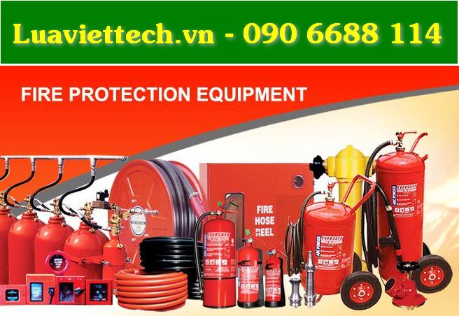 Trang thiết bị phòng cháy chữa cháy PCCC giá rẻ