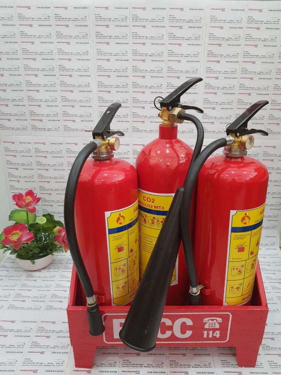 nạp sạc bình chữa cháy giá rẻ