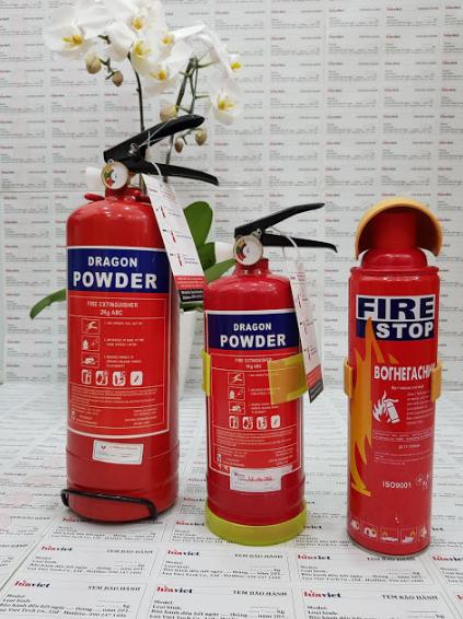 bình chữa cháy đồng tháp giá rẻ