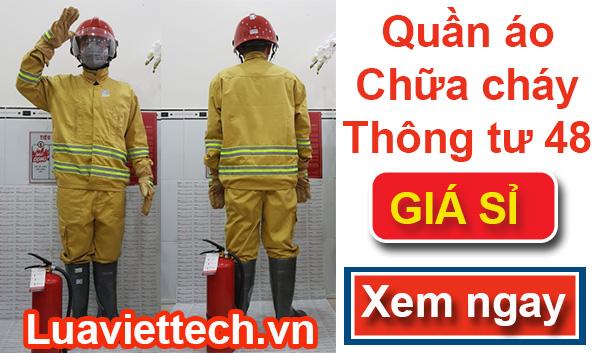 trang phục chữa cháy chất lượng giá rẻ