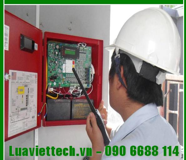 bảo trì hệ thống báo cháy