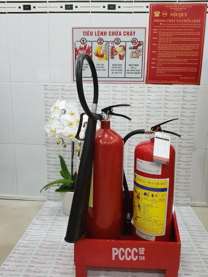 bình chữa cháy chất lượng giá rẻ tại cà mau
