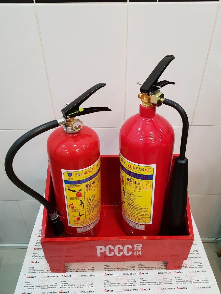 kệ đựng bình chữa cháy