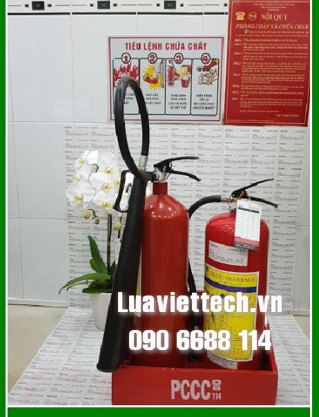 bình chữa cháy cho cửa hàng