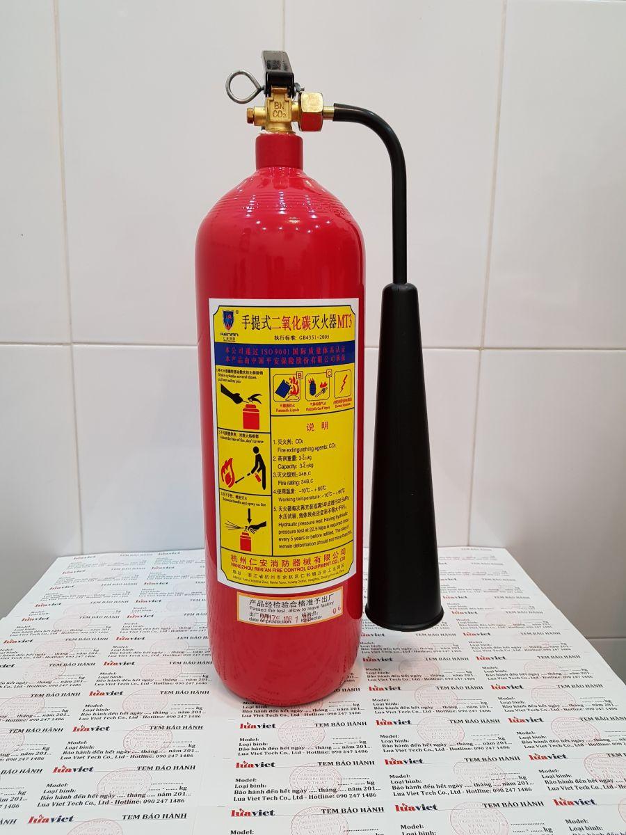bình chữa cháy Mt3 tại luaviettech.vn