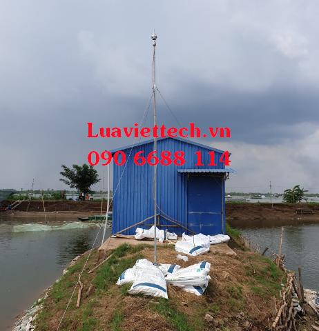 kim thu sét cho khu sản xuất thủy sản