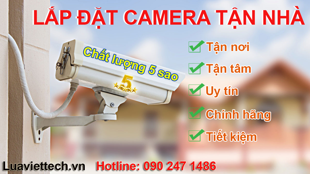 lắp đặt camera giám sát tại tphcm