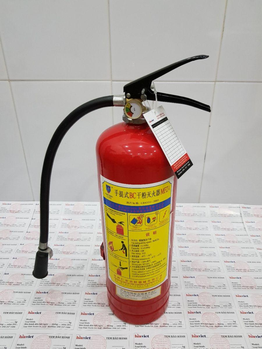 binh chữa cháy mfz4 bột abc bc gia re